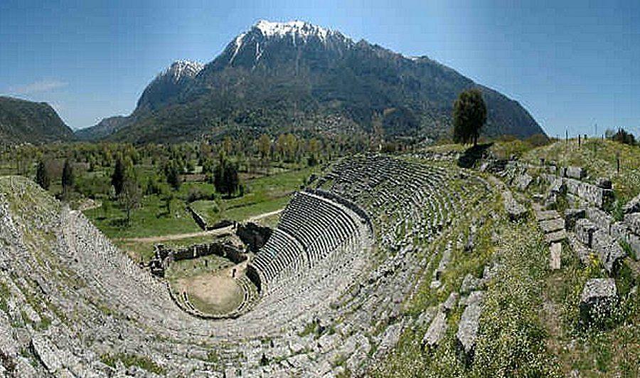 Dodona's amphitheatre
