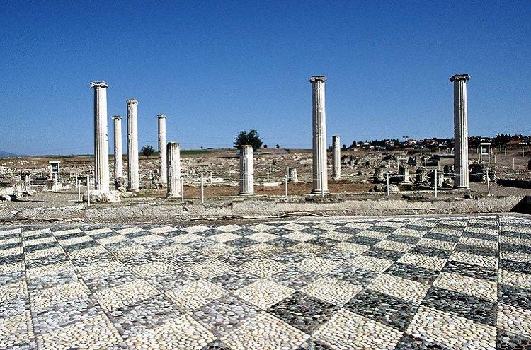 The ruins of Pella