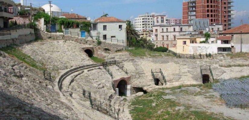 Dyrrachium: ancient amphitheater.