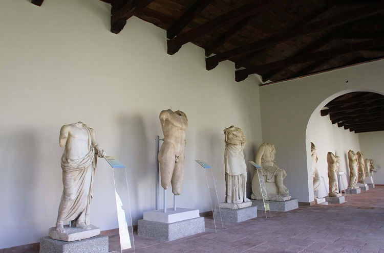 Archaeological Museum Apollonia has been established inside the premises of an eight hundred year old Byantine monastery.