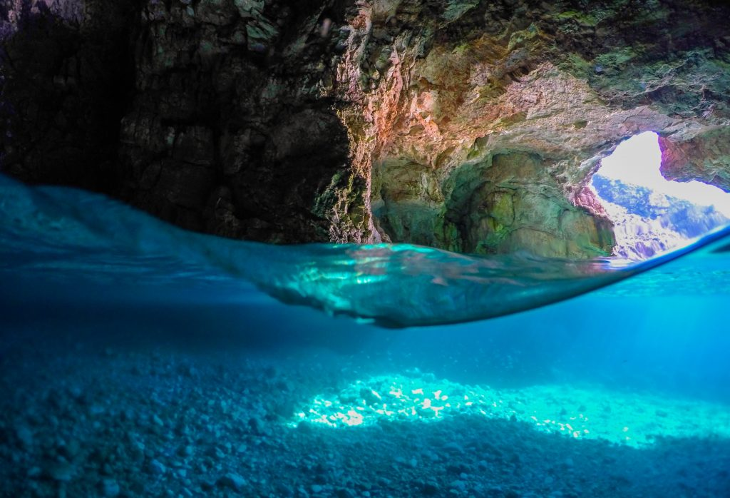 The Dafina Cave, along with the Dafina Bay, is a must-visit natural attraction in the Albanian Southern Riviera.