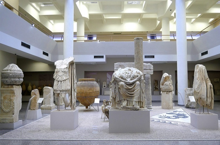 The archaeological museum of Durrës is one of the most important museums in Albania.