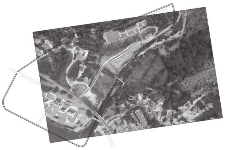 Plan of ancient Rhizon and contemporary terrain situation (author: B. Wojciechowski).