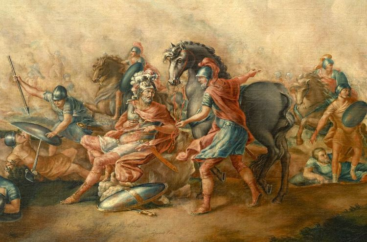 Aemilius Paulus is killed at the battle of Cannae.