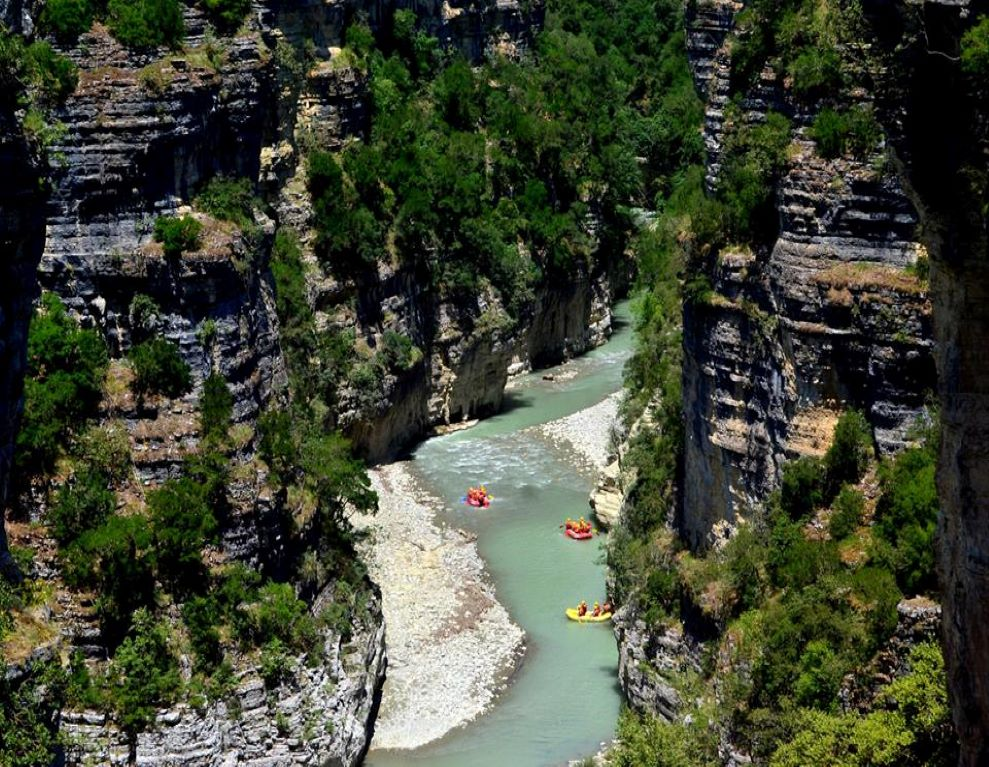 Albanian Canyons