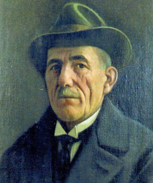"""""""Vetë portreti"""" (""""Self-portrait"""") - Kolë Idromeno - 1931."""