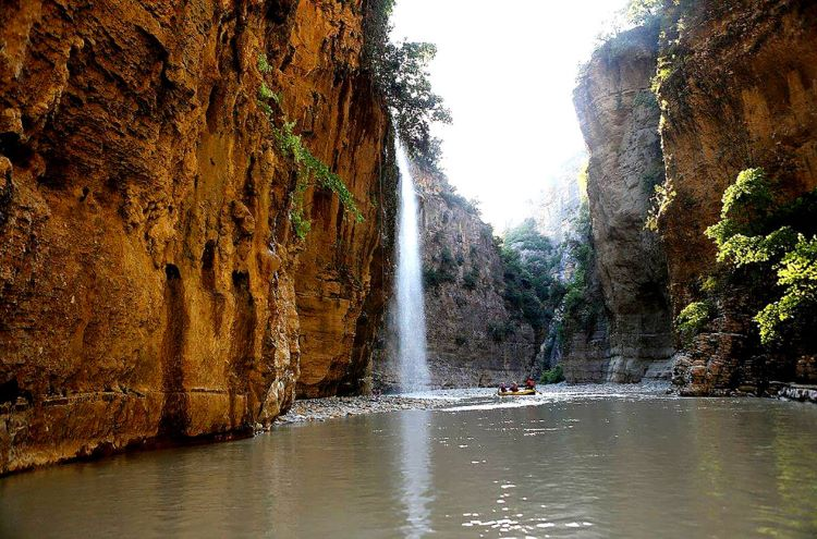 """The majestic canyon of Osum River is the largest in the country, rightfully deemed """"Albania's Grand Canyon""""."""