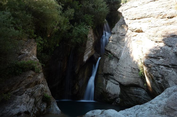 The Bogova Waterfall is a graceful, unspoiled spot to touch base with nature.