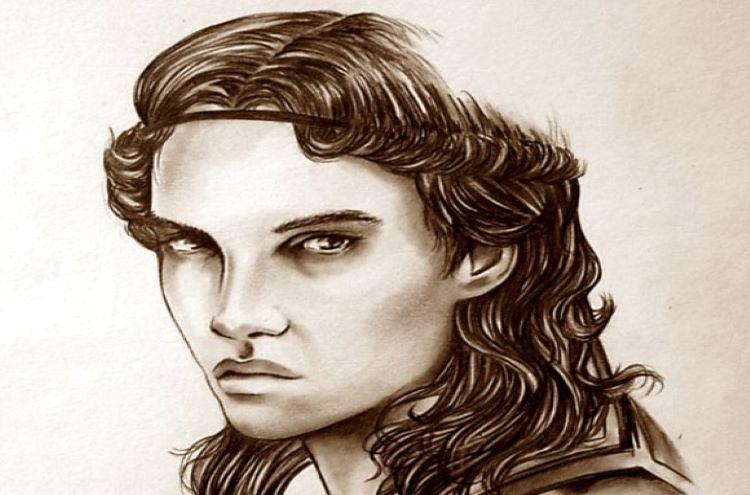Portrait of a young Cassander by kleinmeli.
