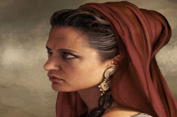 Portrait of Olympias of Epirus by panaiotis.