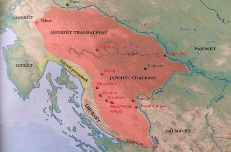 Iapodian Territory